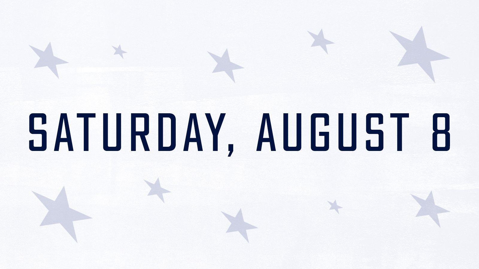 Saturday, August 8
