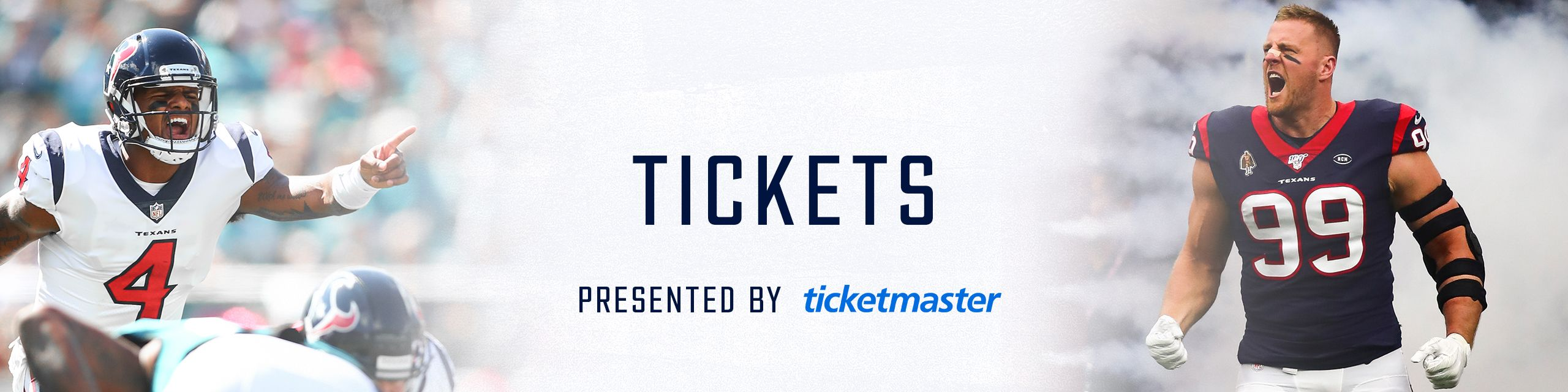 Tickets presented by Ticketmaster