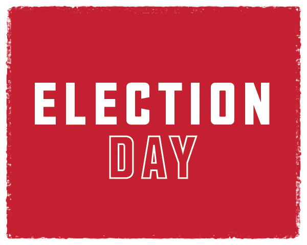 Election Day is Tuesday, November 3
