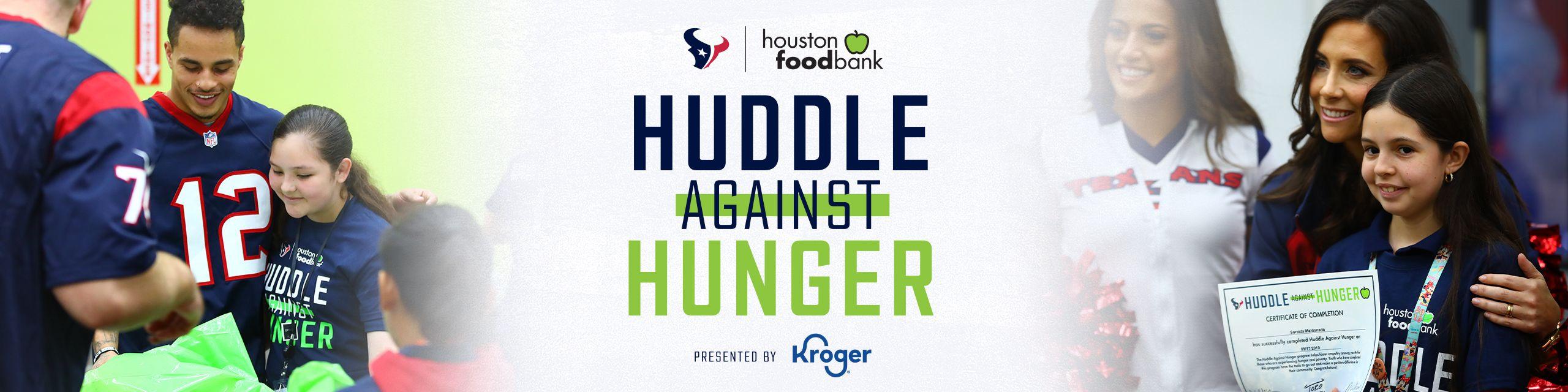 Huddle Against Hunger presented by Kroger