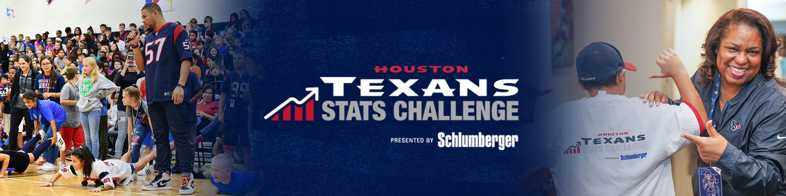 Houston Texans Stats Challenge presented by Schlumberger