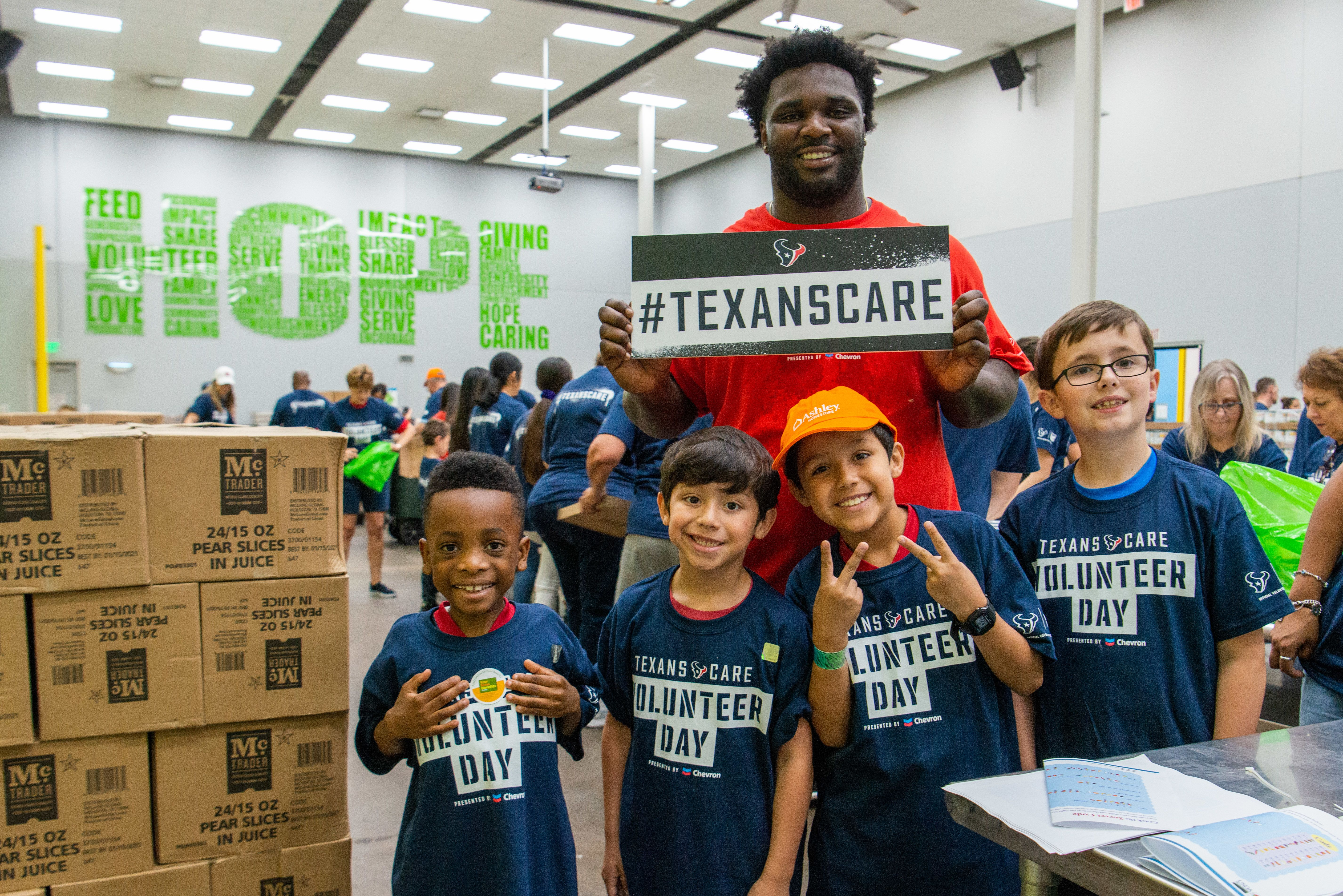 Texans Care Volunteer Day presented by Chevron