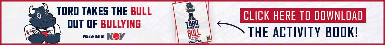 TORO Takes the Bull Out of Bullying presented by NOV. Click here to download the activity book.