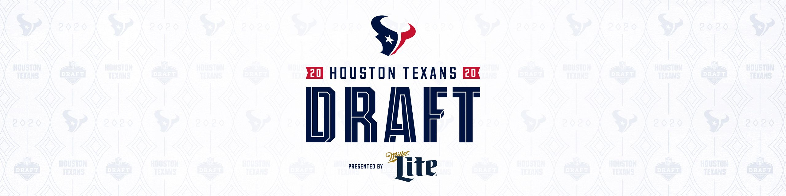 Houston Texans Daft. presented by Miller Lite