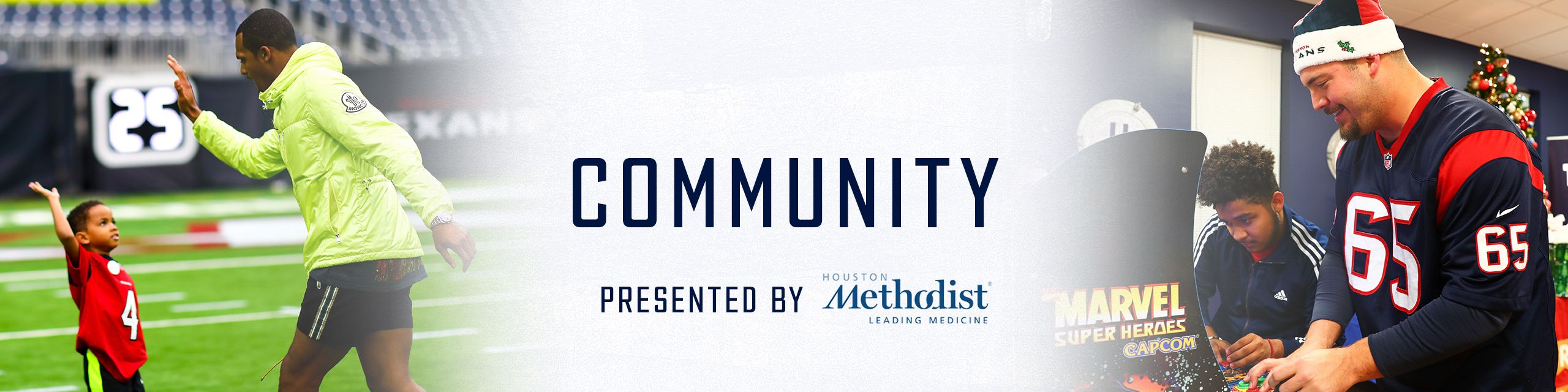 Community presented by Houston Methodist