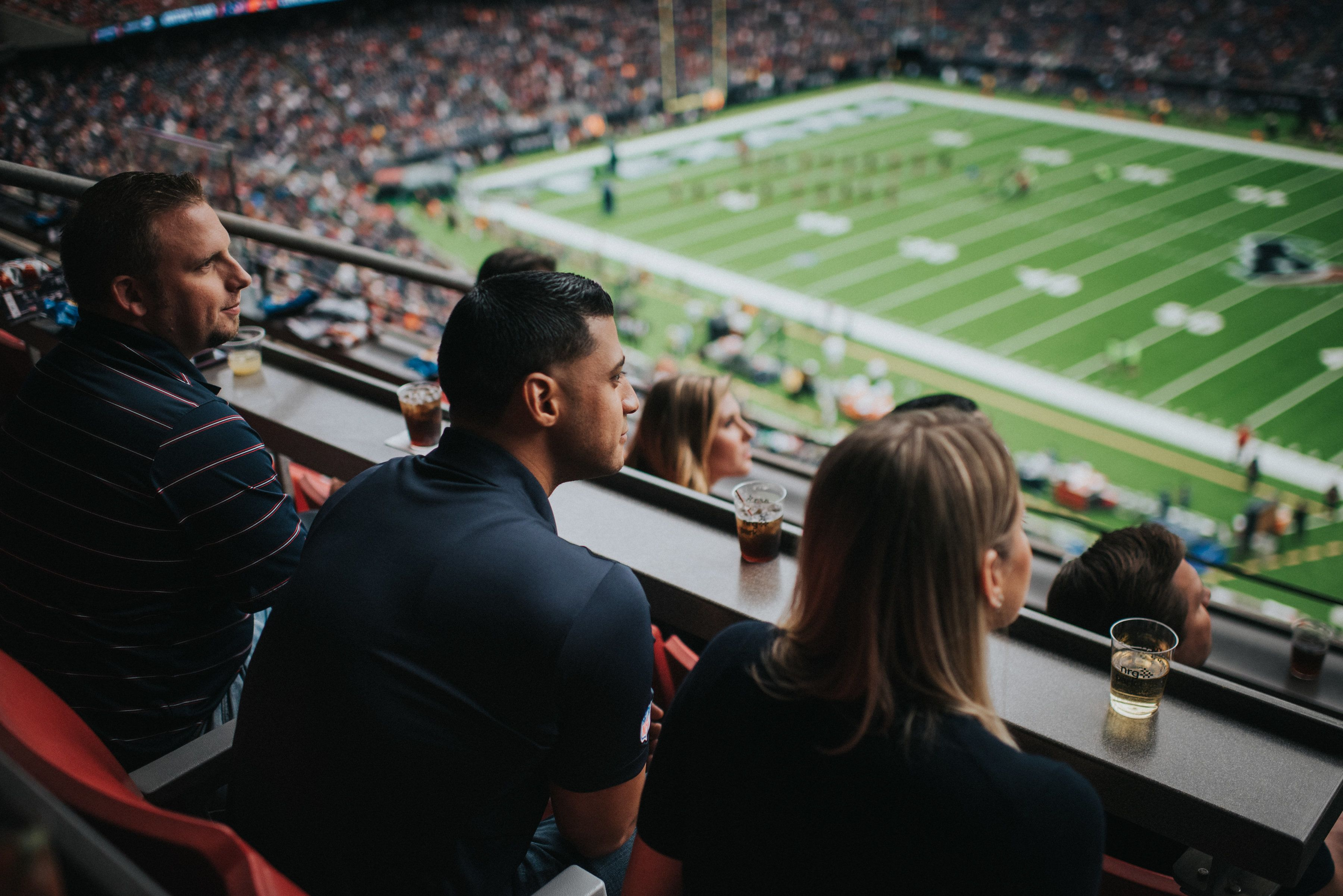 Get the best view of the game in NRG Stadium