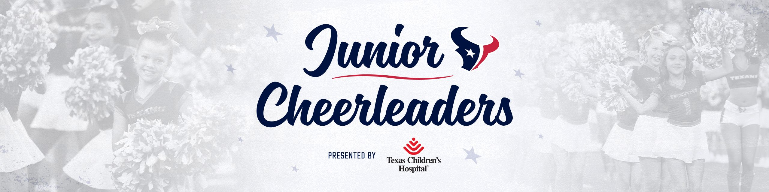Junior Cheerleaders. presented by Texas Child