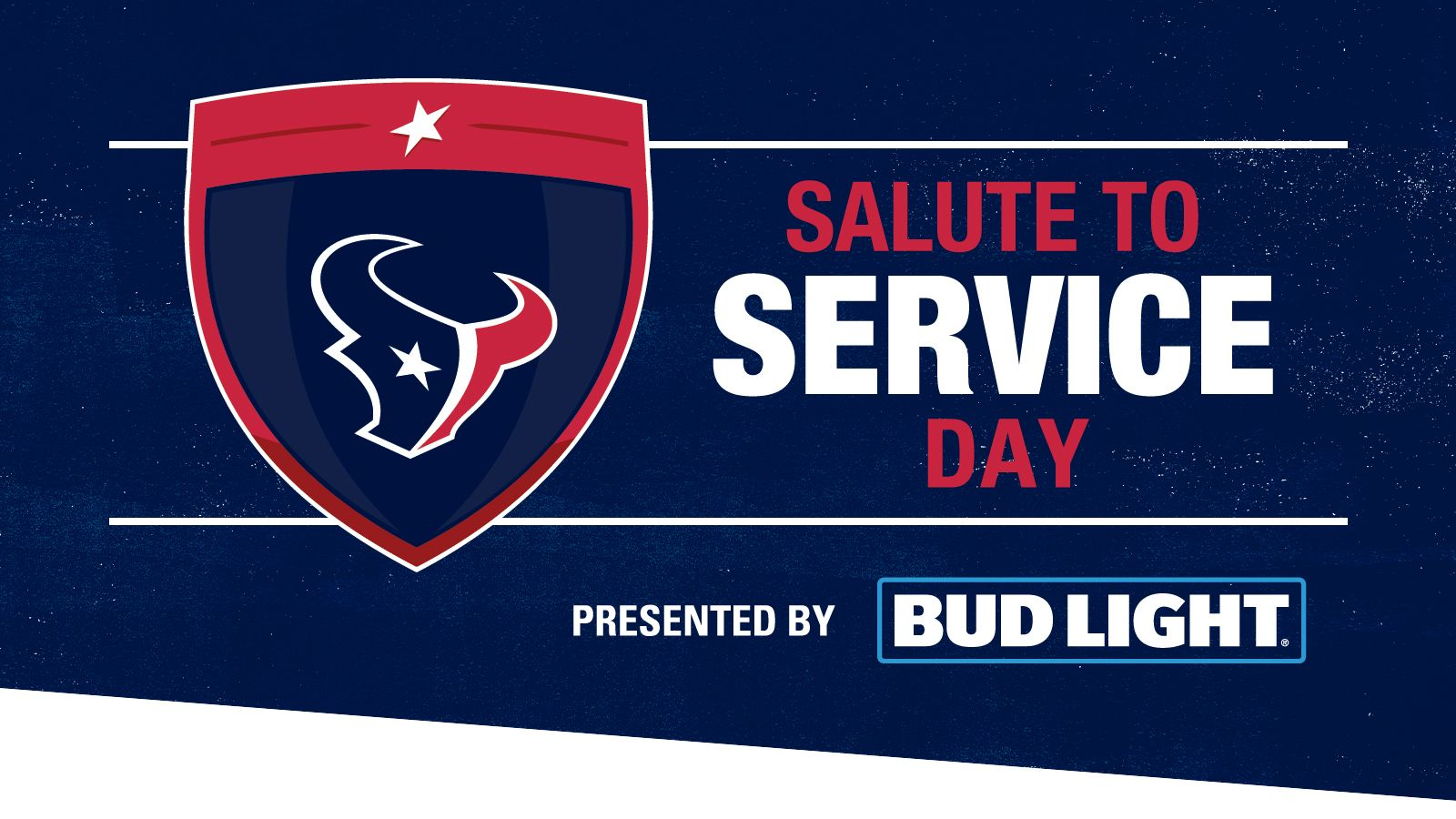 Salute to Service presented by Bud Light