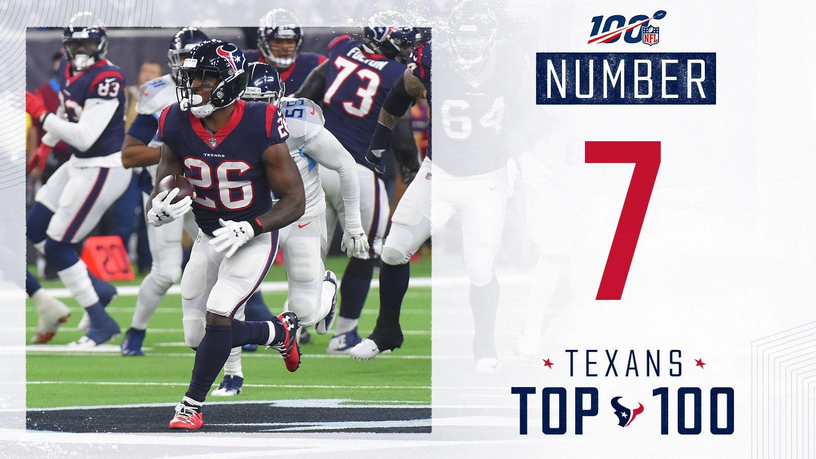 7_Miller's 97-yard TD run vs Titans in 2018 - TWITTER