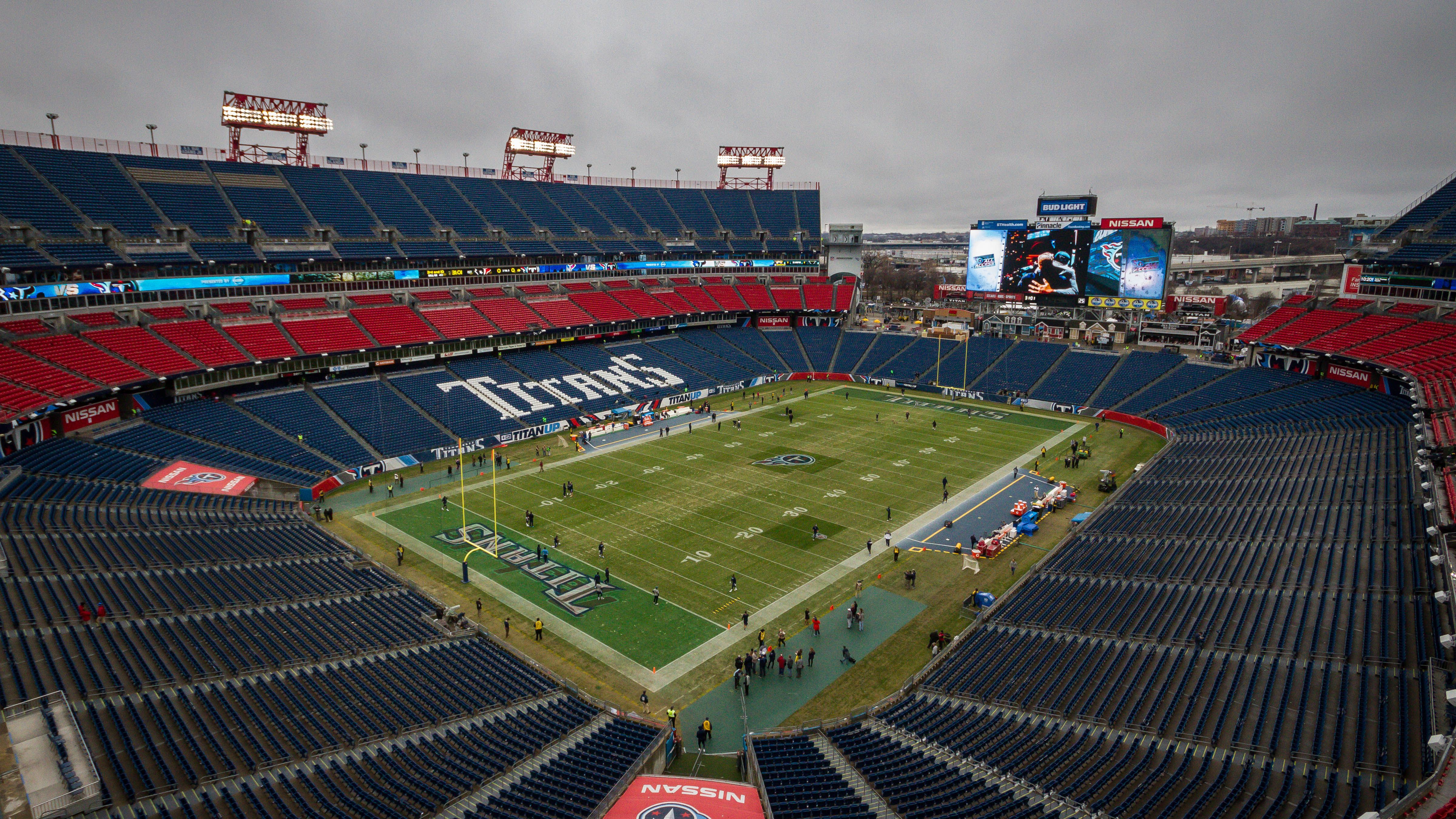 At Tennessee Titans