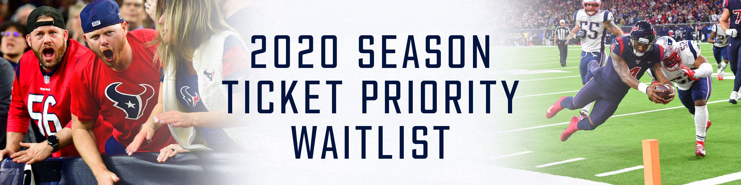 2020 Season Ticket Waitlist