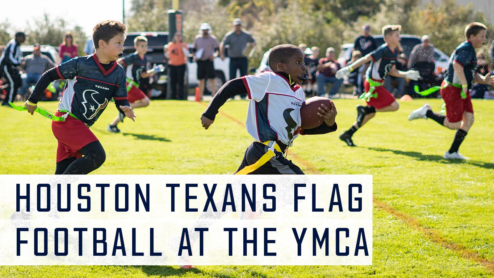Houston Texans Flag Football at the YMCA