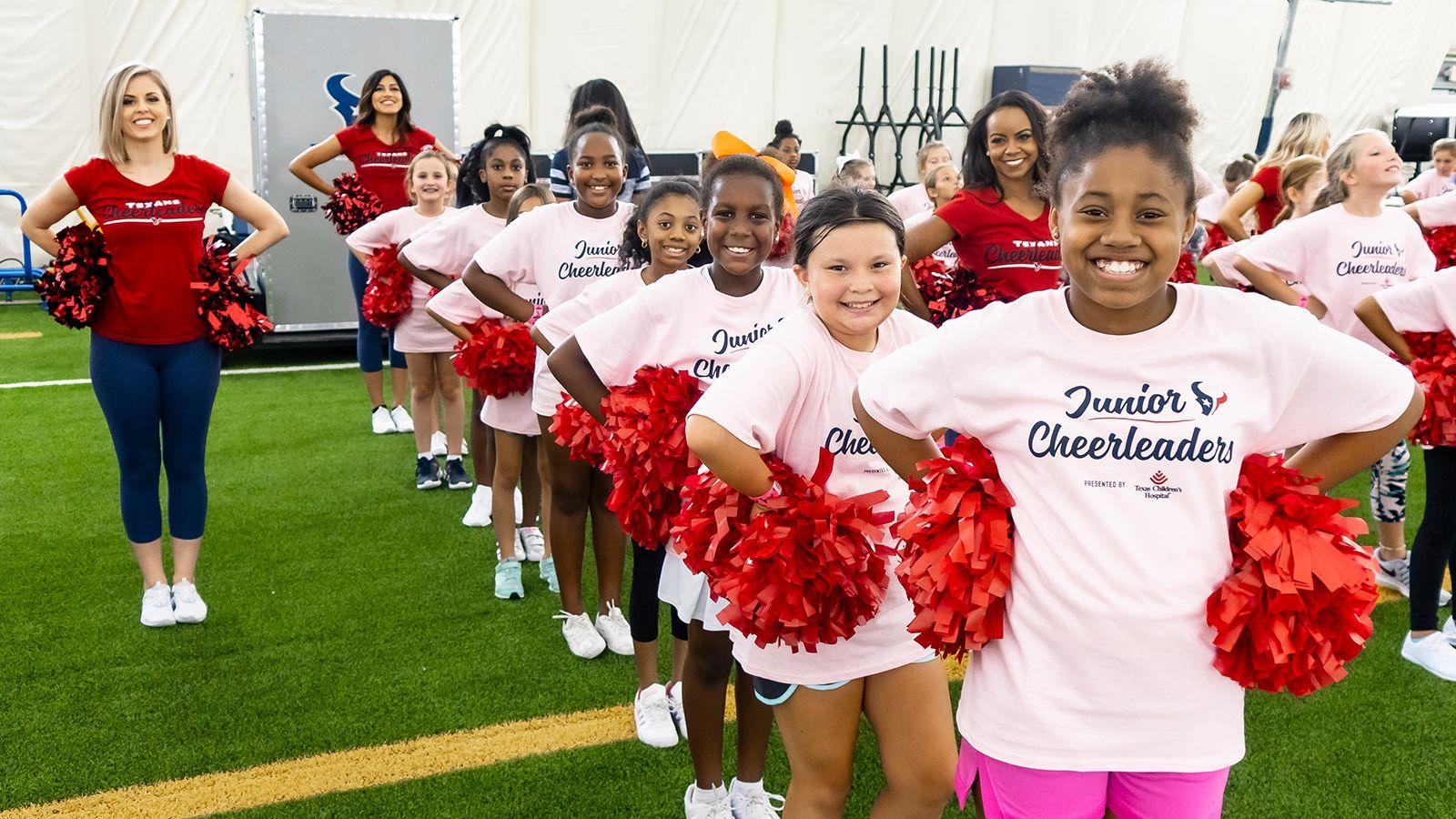 Practice with the Houston Texans Cheerleaders