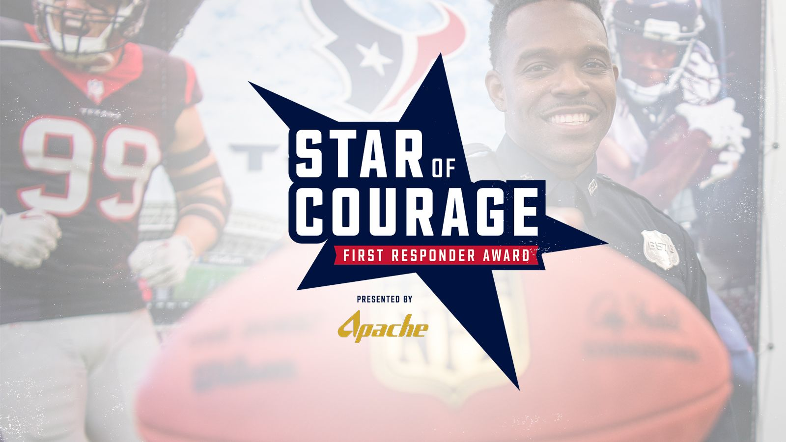Star of Courage. Presented by Apache