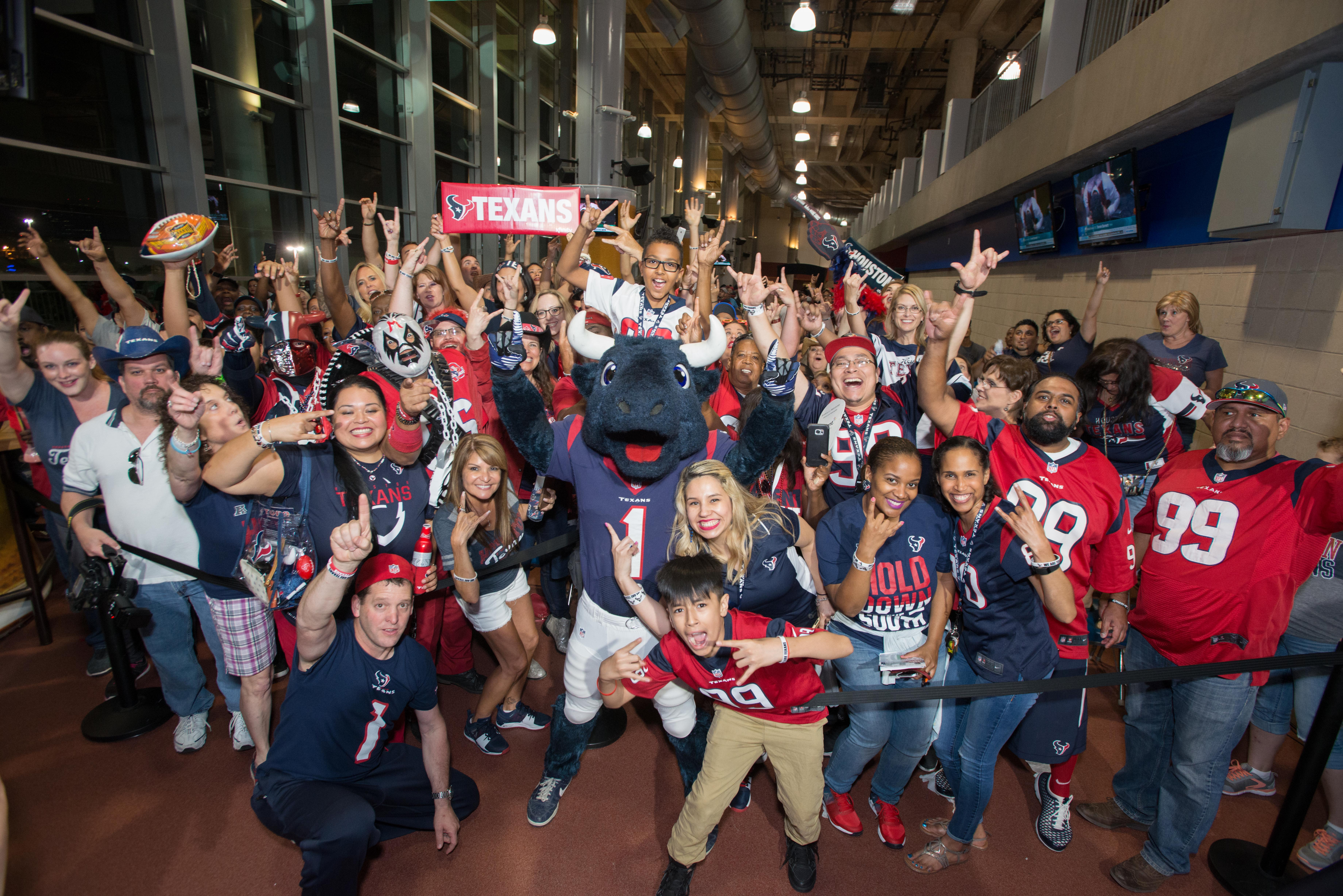 An image from the April 27, 2017 Houston Texans Draft Party at NRG Stadium in Houston, TX.