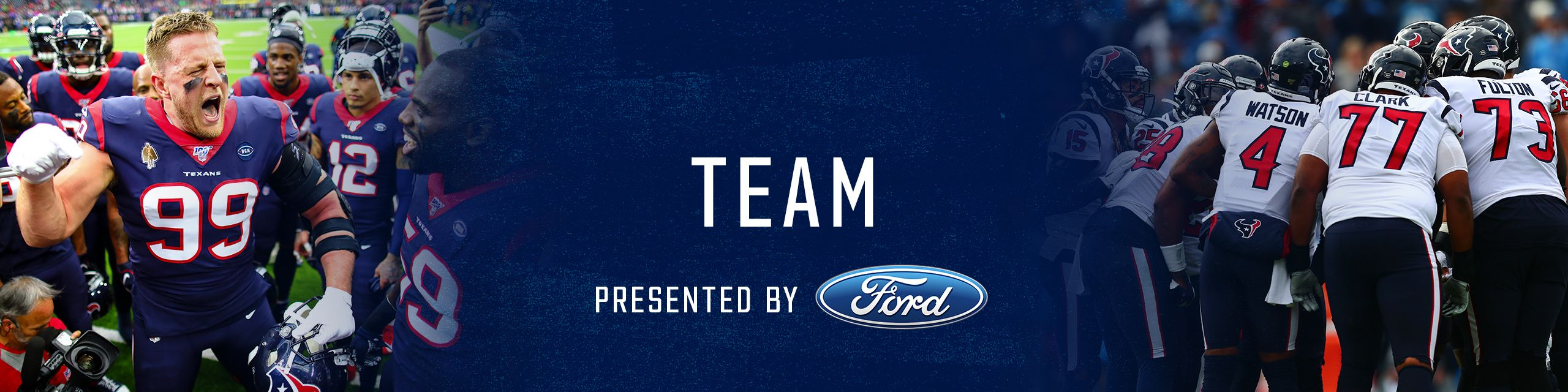 Team. presented by Ford