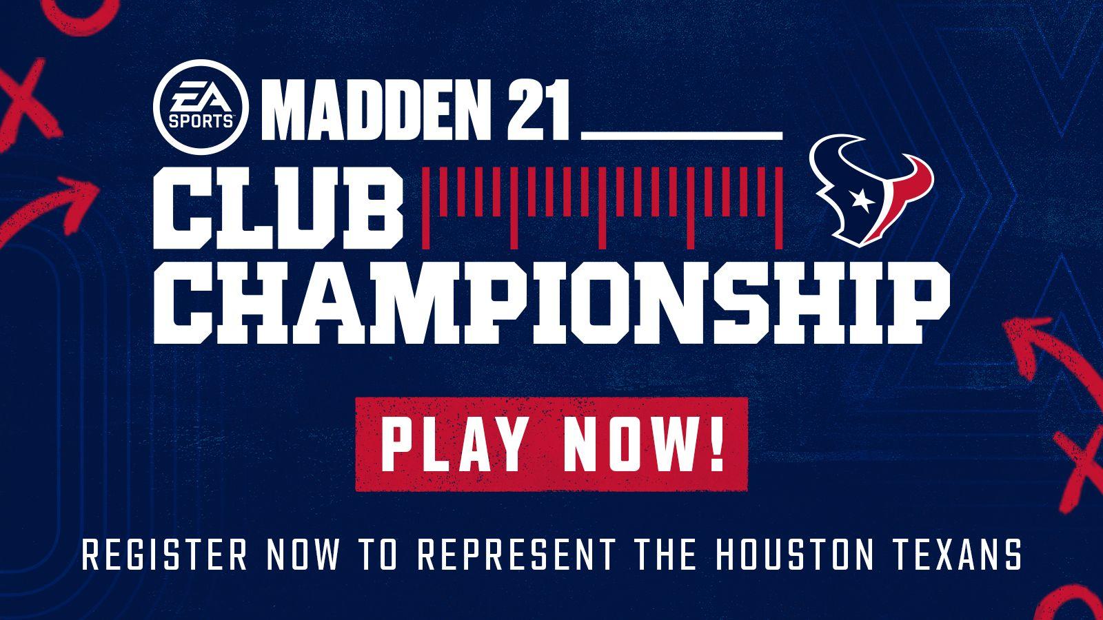 Madden 21 Club Championship.