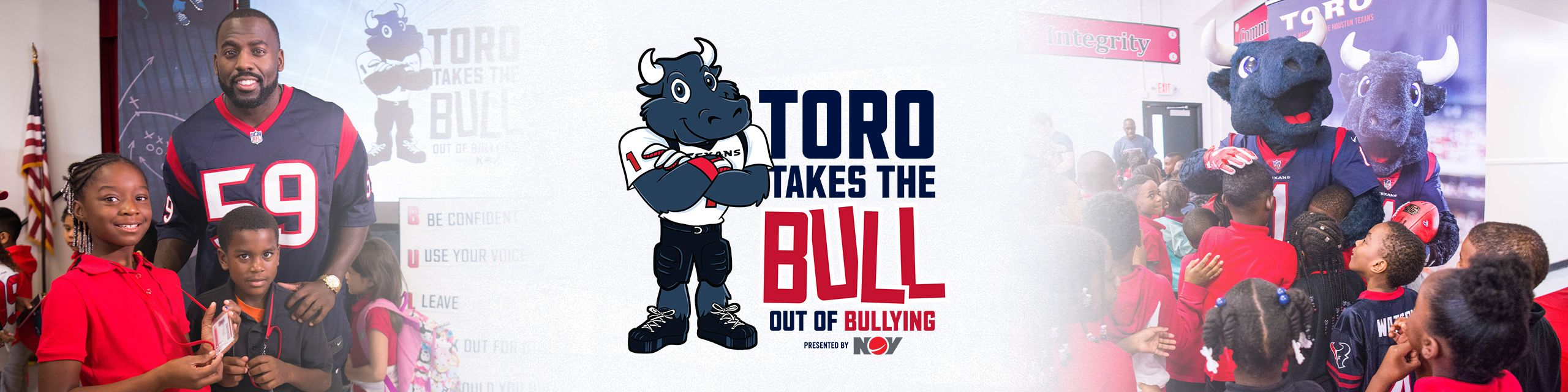 TORO Takes the Bull Out of Bullying. presented by National Oilwell Varco