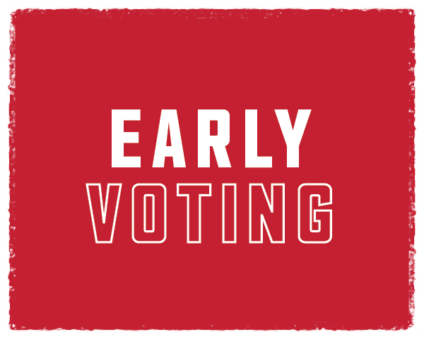 Early Voting Runs October 13-30 in Harris & Fort Bend Counties