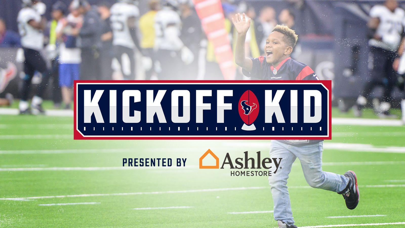 Kickoff Kid Contest