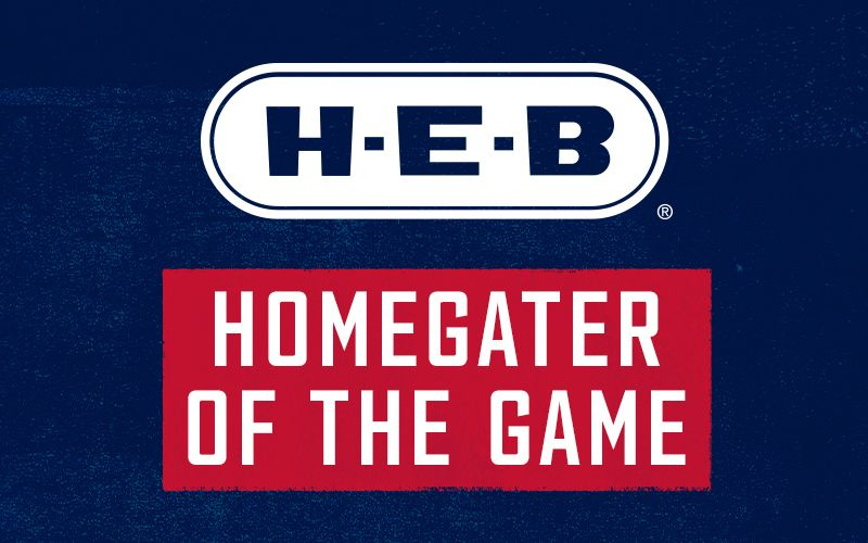 H-E-B Homegater of the Game