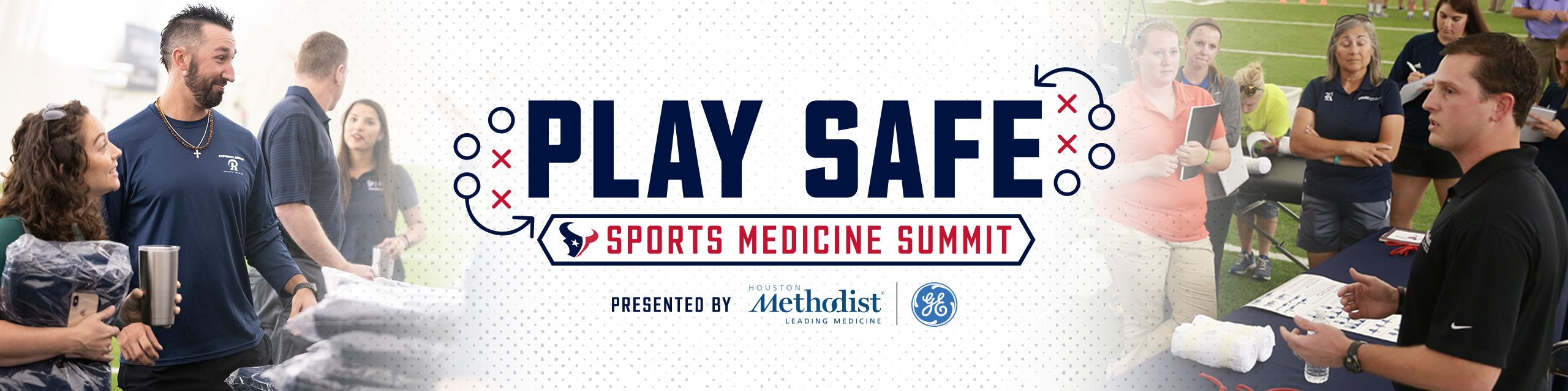Play Safe - Sports Medicine Summit presented by Houston Methodist and GE