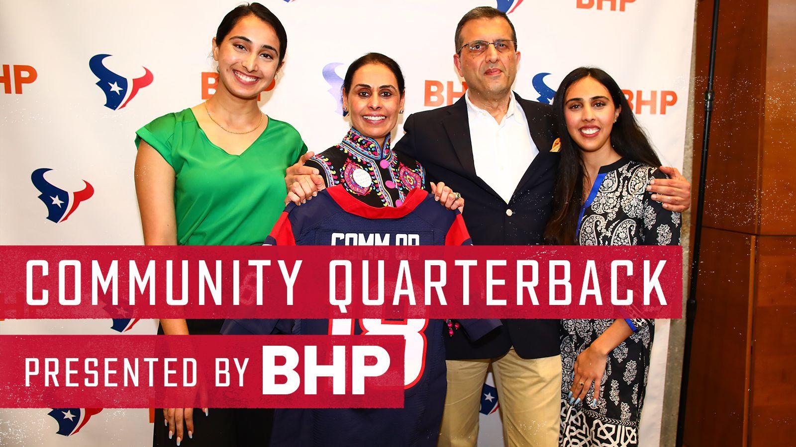 Community Quarterback presented by BHP