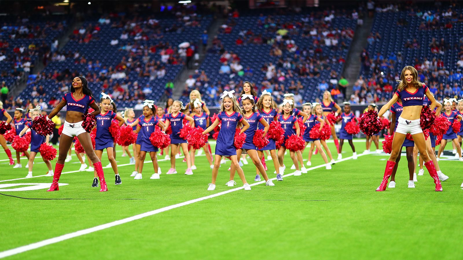 Perform Pregame with the Houston Texans Cheerleaders