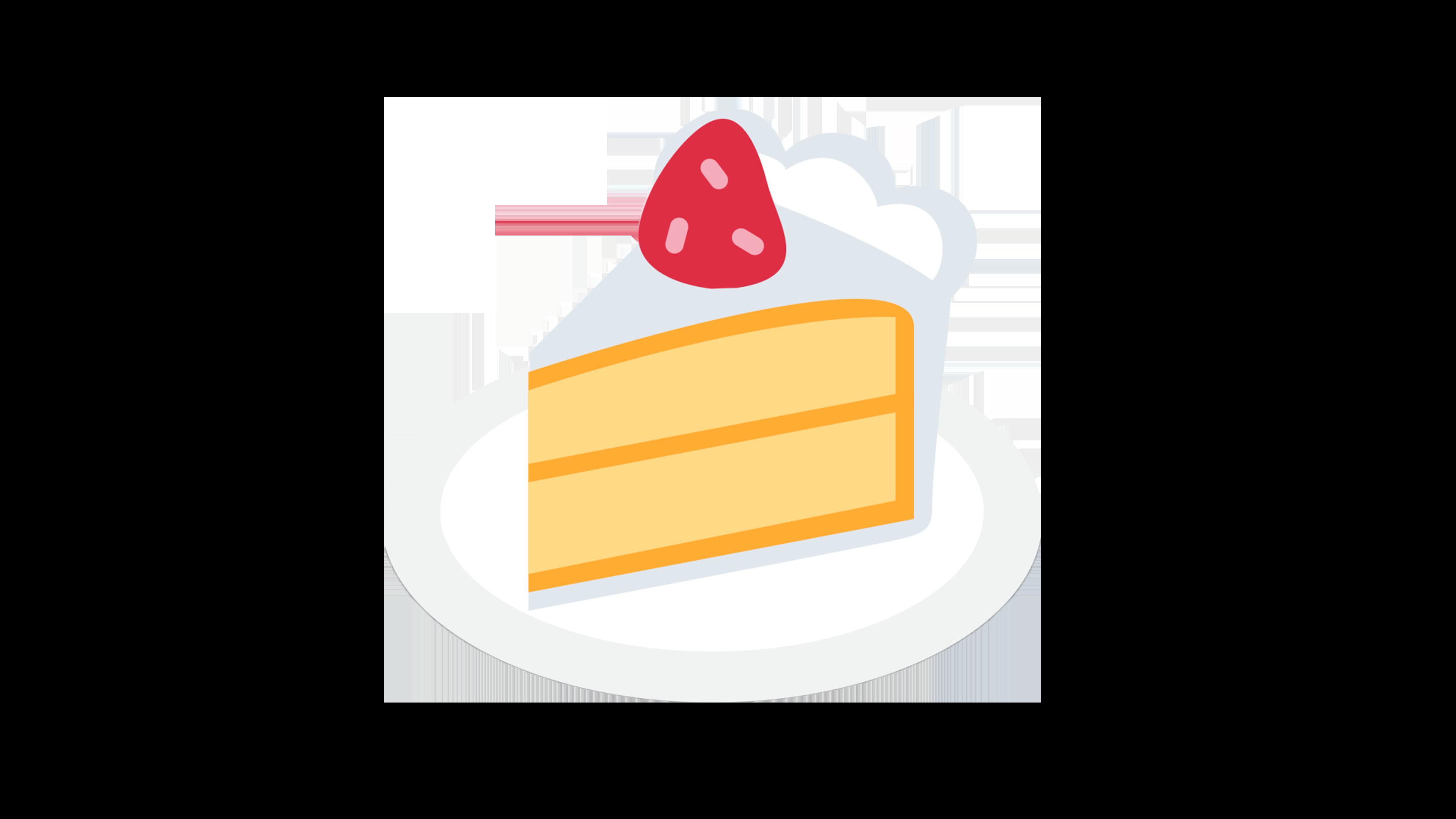 Cake emoji