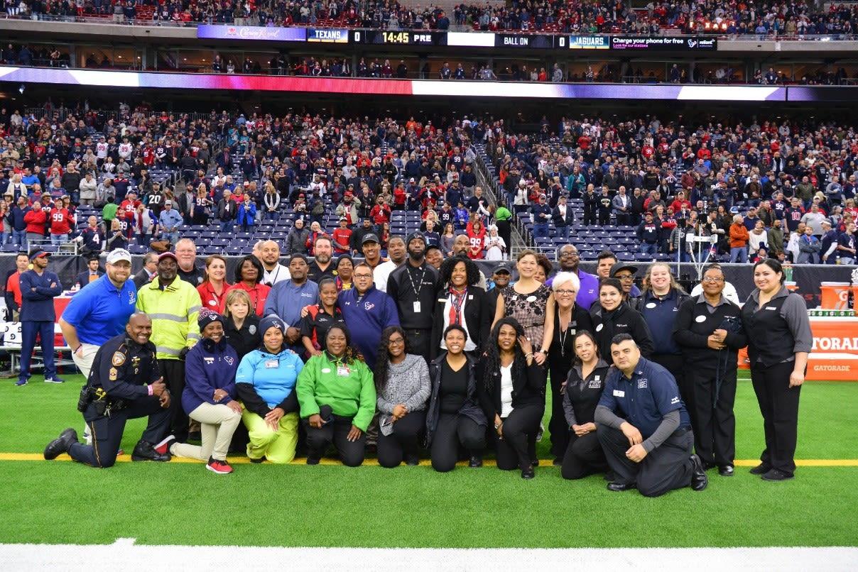 2018 Spirit of Service Award Winners