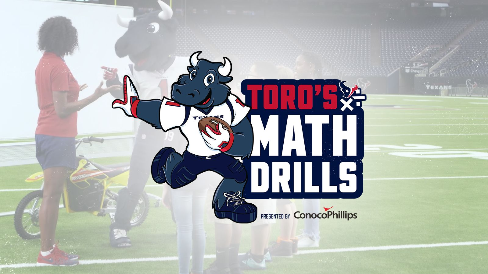 TORO's Math Drills. presented by Conoco Philllips