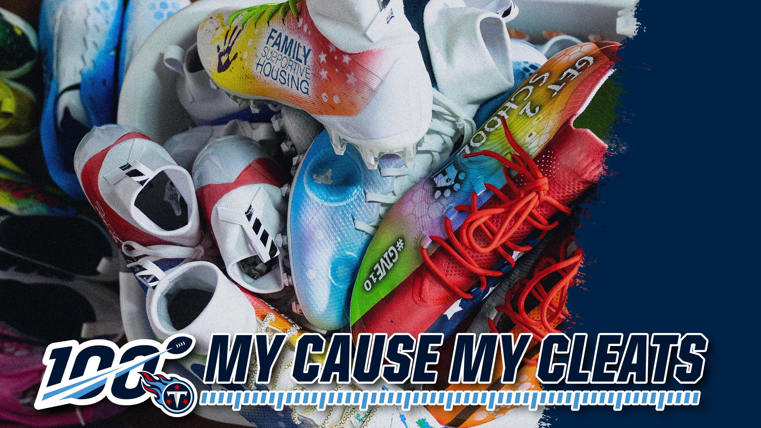 EVERY CLEAT TELLS A STORY.