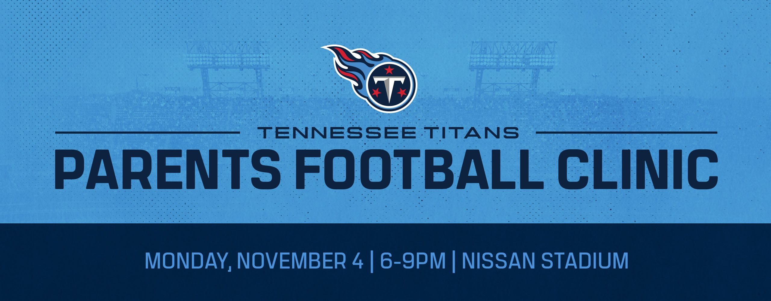 Tennessee Titans Parents Football Clinic