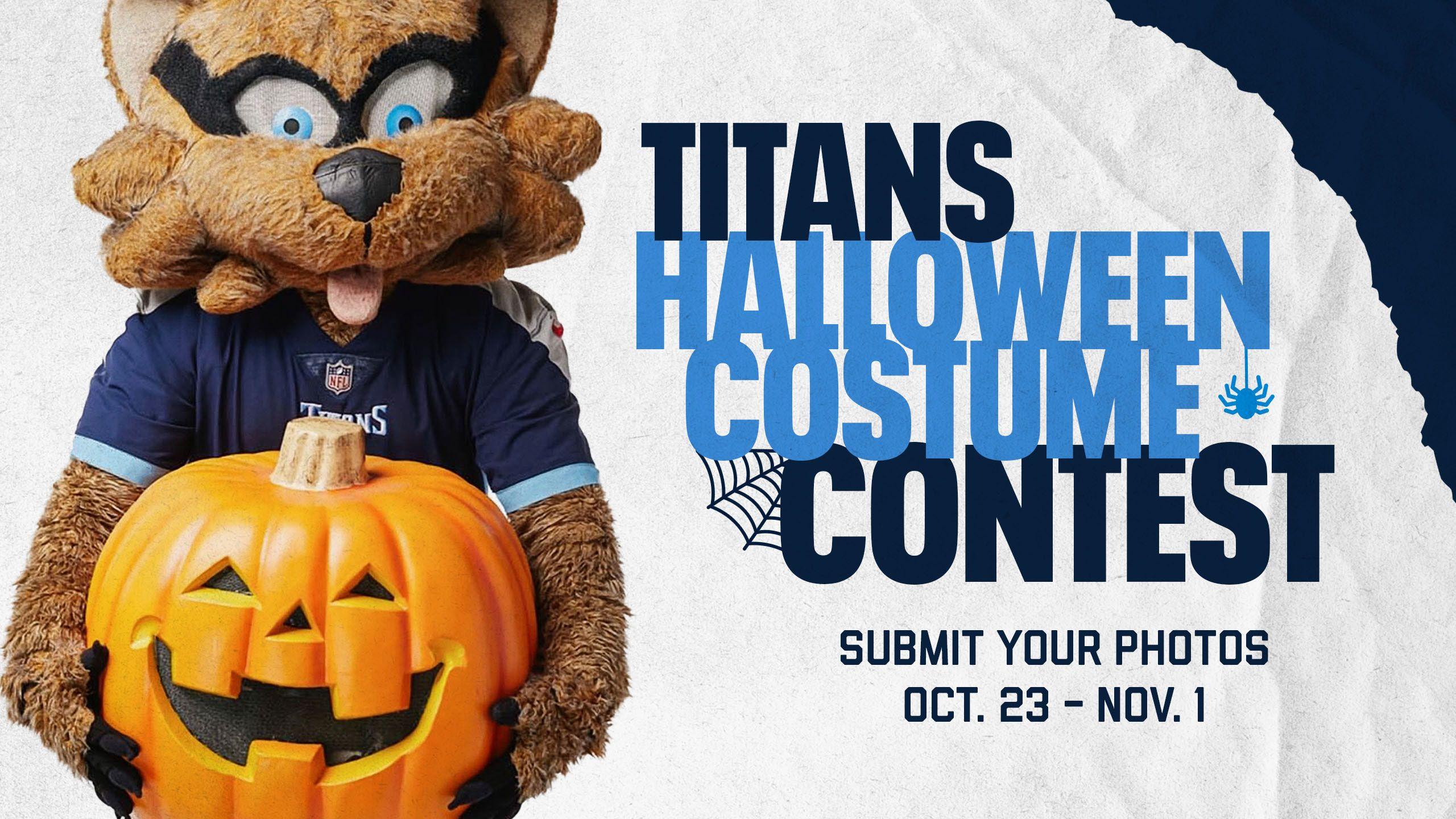 Titans Halloween Costume Contest