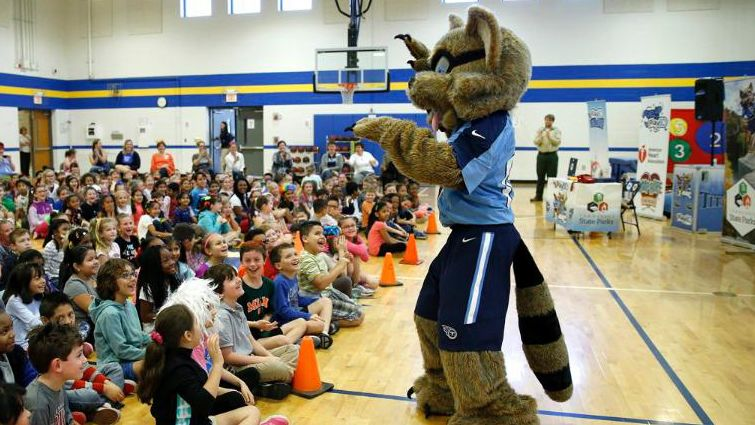 T-Rac's Play60 School Program