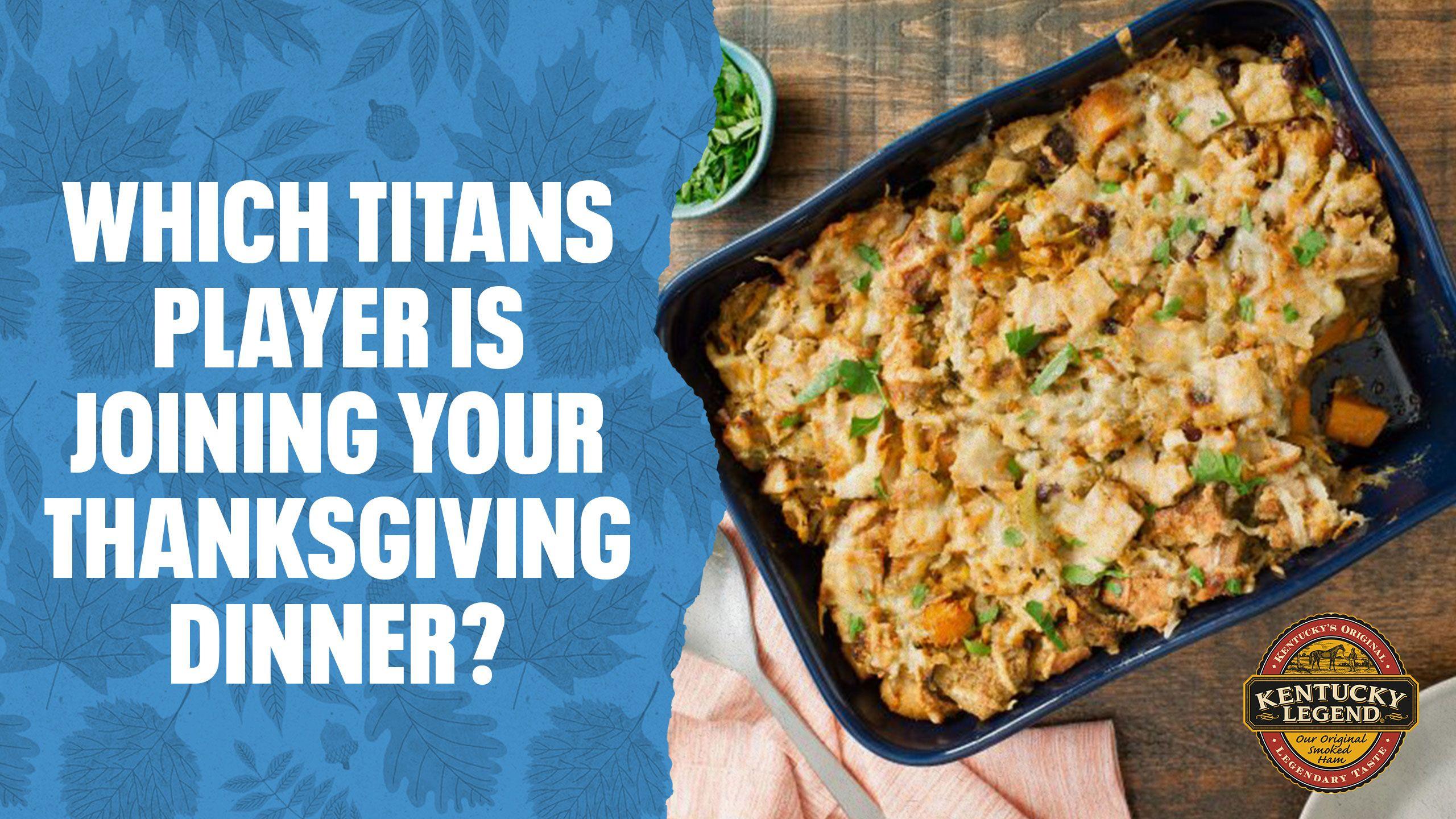 Titans Thanksgiving Celebration Quiz