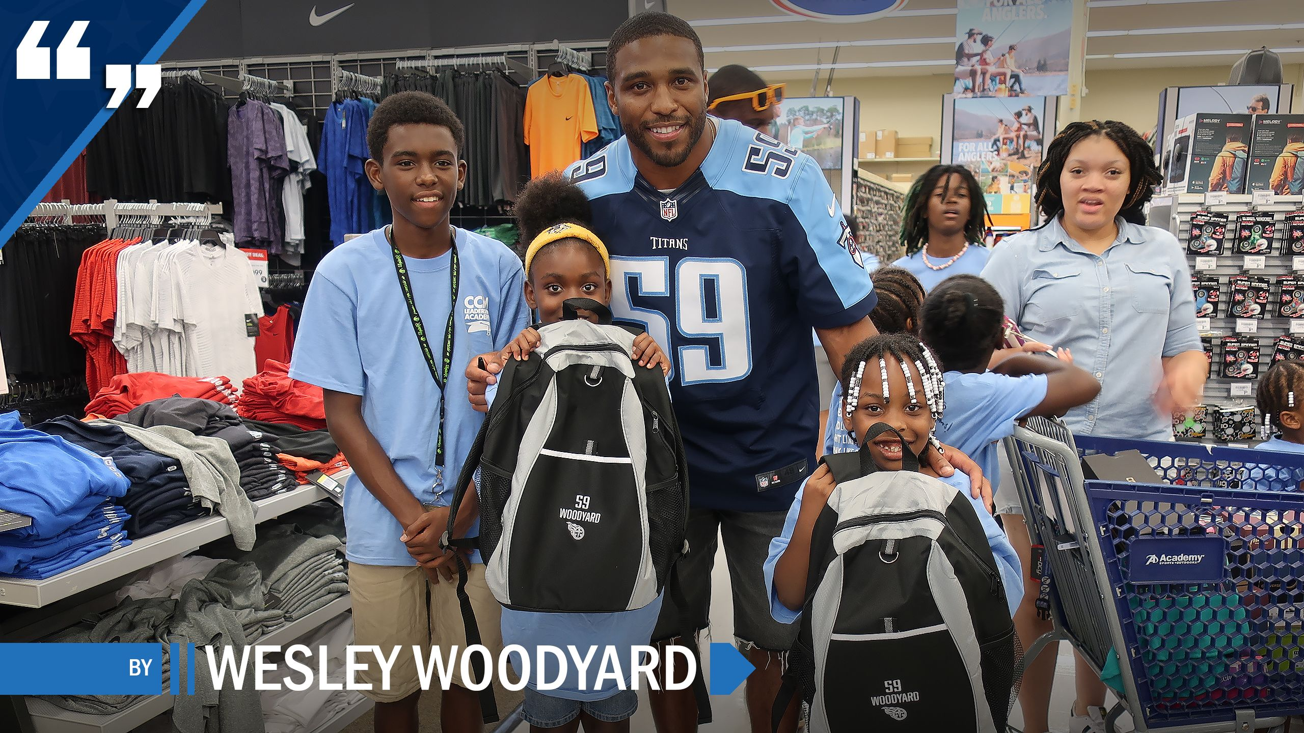 THIS IS MY STORY  //  by Wesley Woodyard