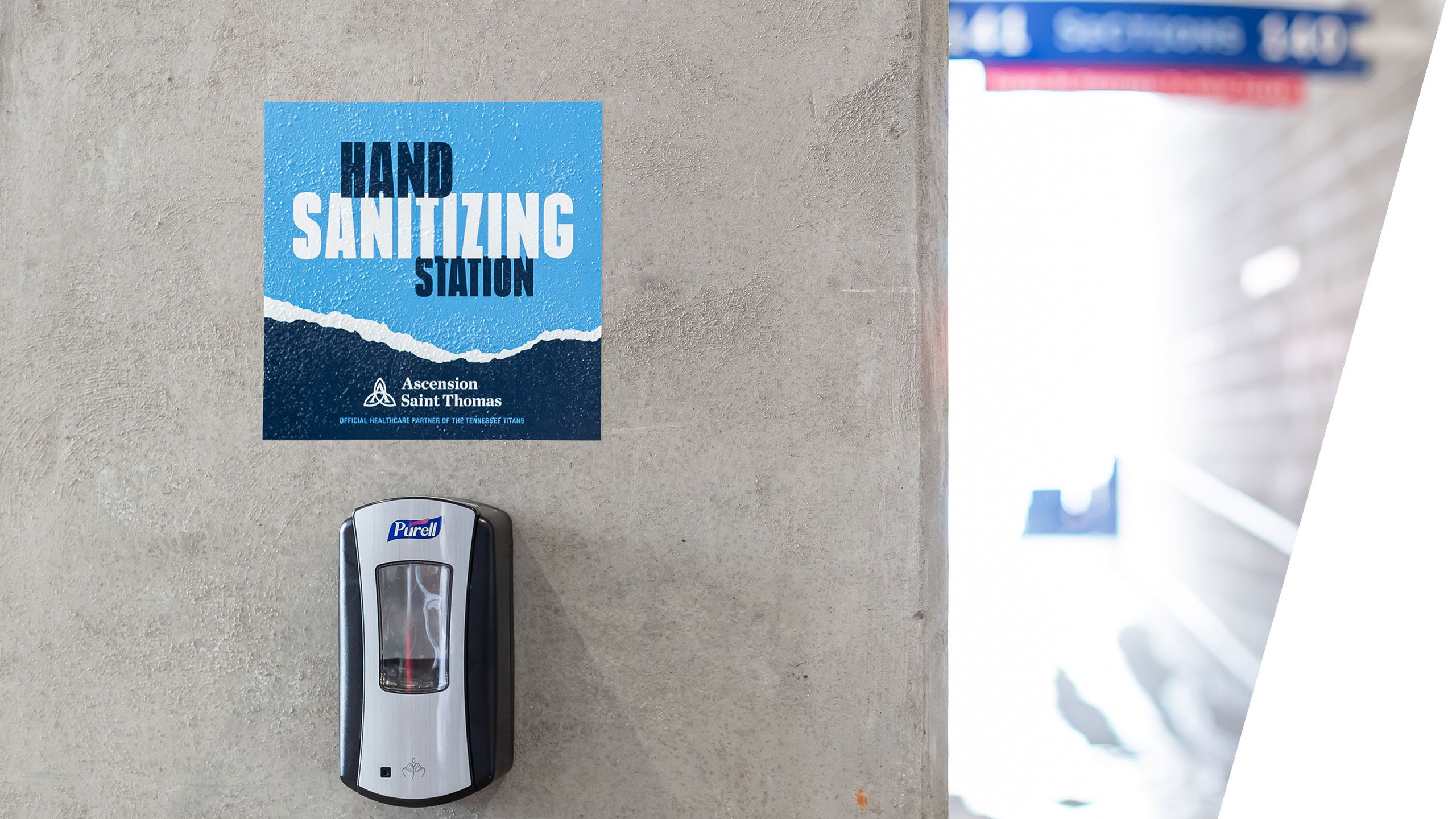 hand-sanitizing