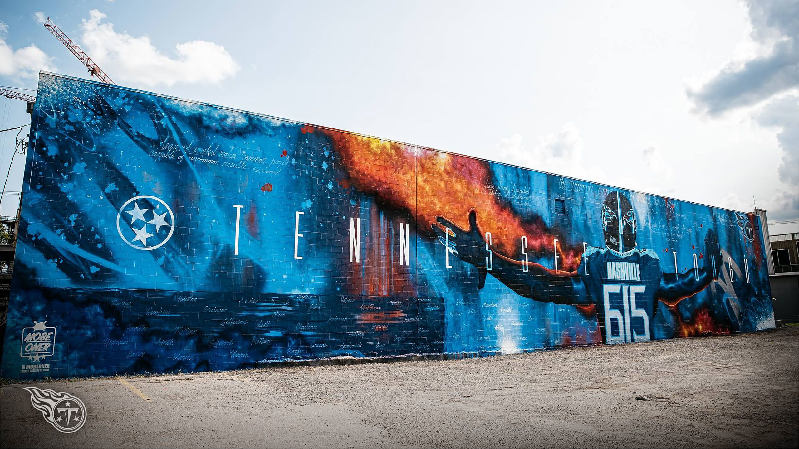 TENNESSEE TOUGH MURAL