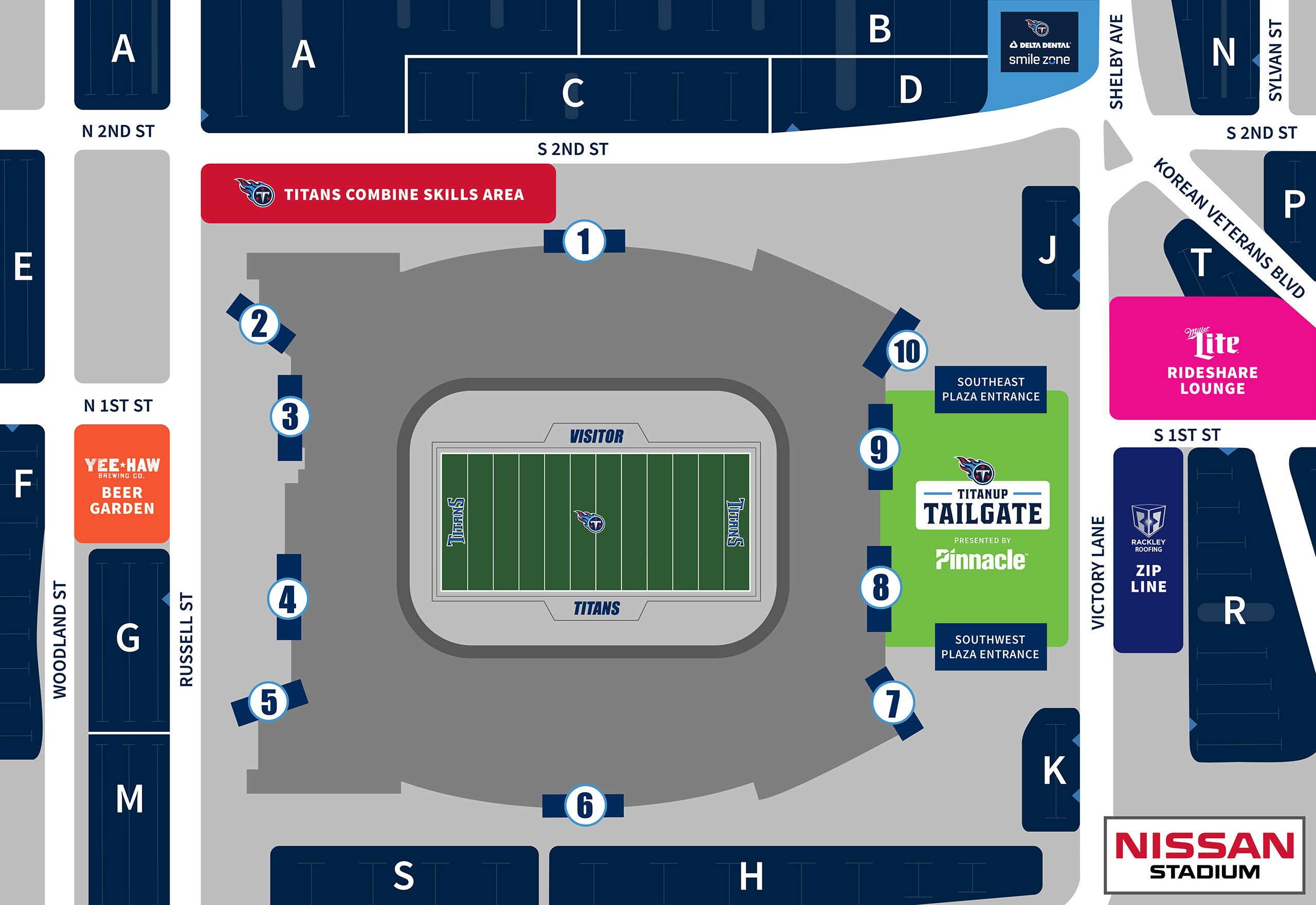 TitanUp Tailgate, Presented by Pinnacle
