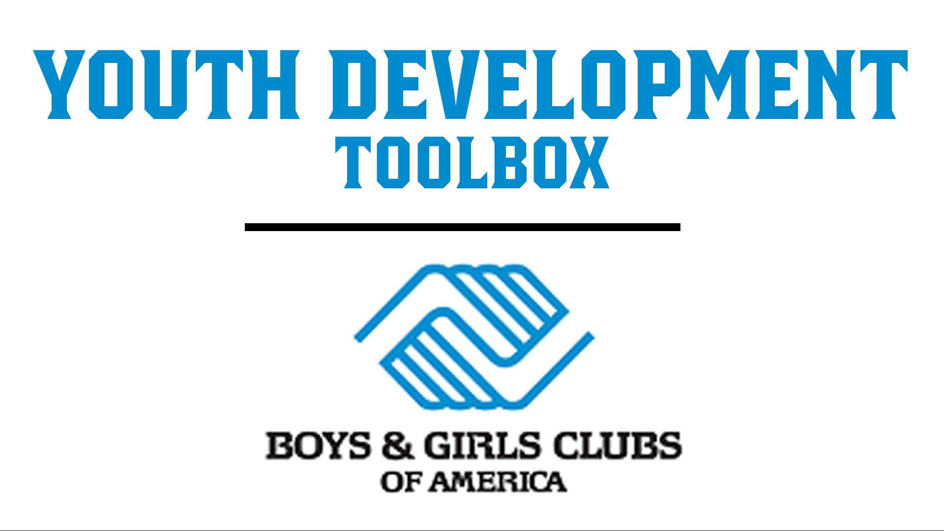 Youth Development Toolbox