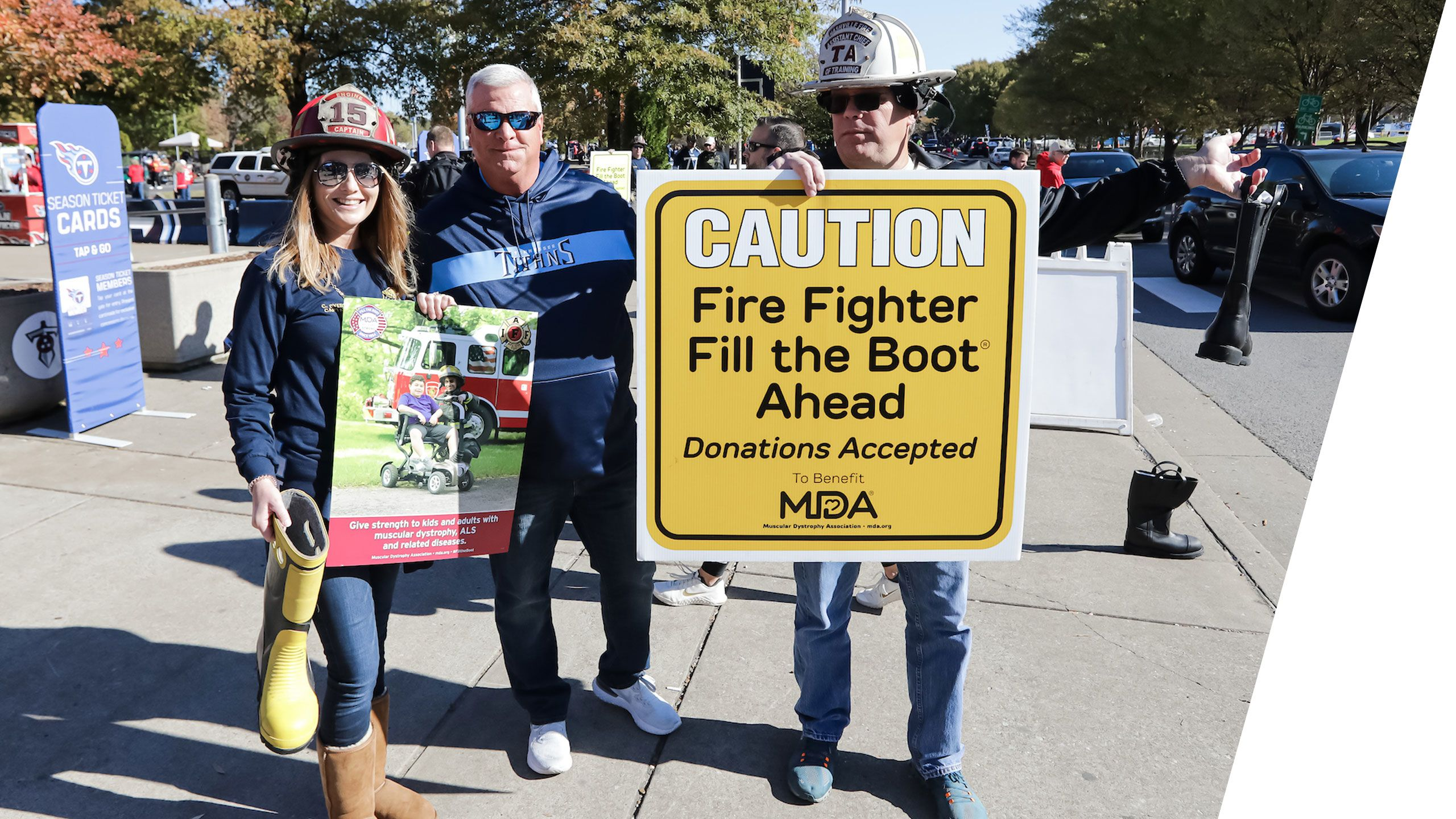 Fill the Boot benefiting Muscular Dystrophy Association