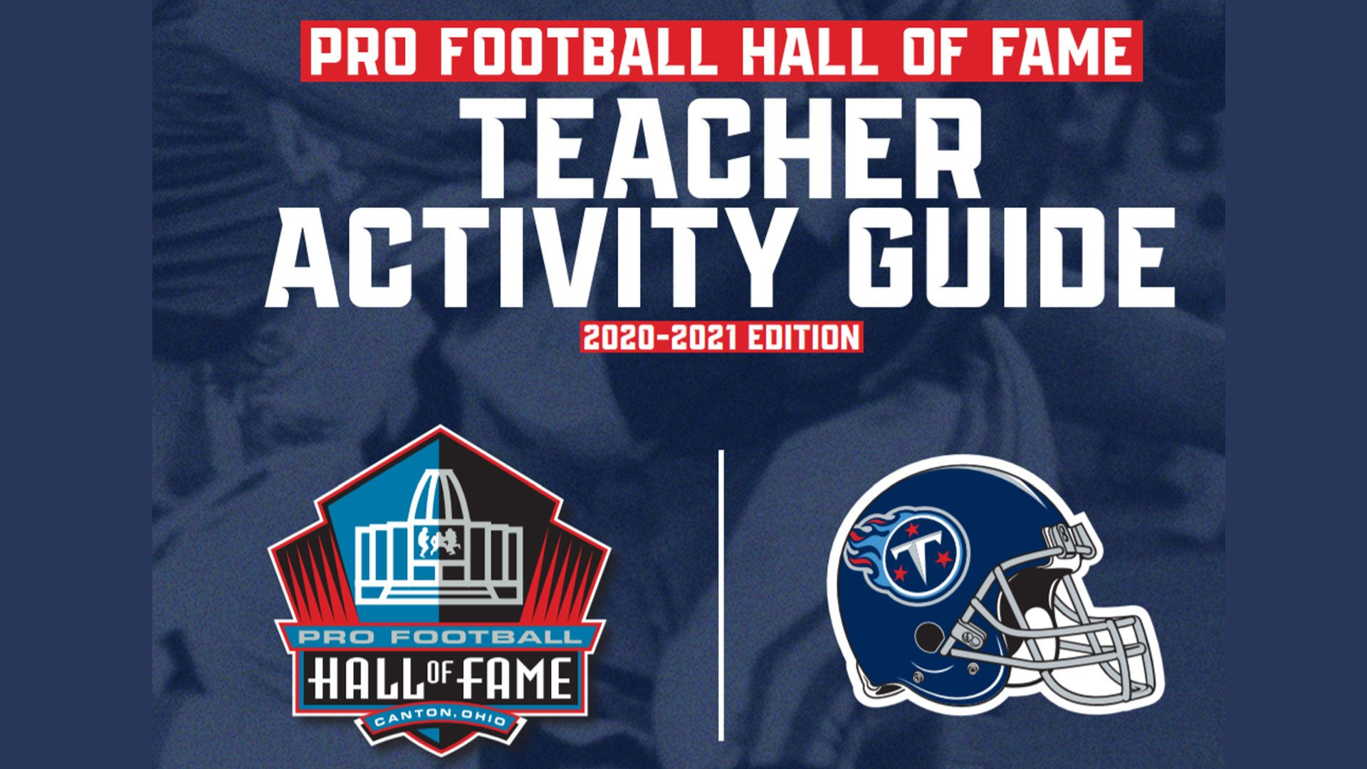 Pro Football Hall of Fame Teacher Activity Guide