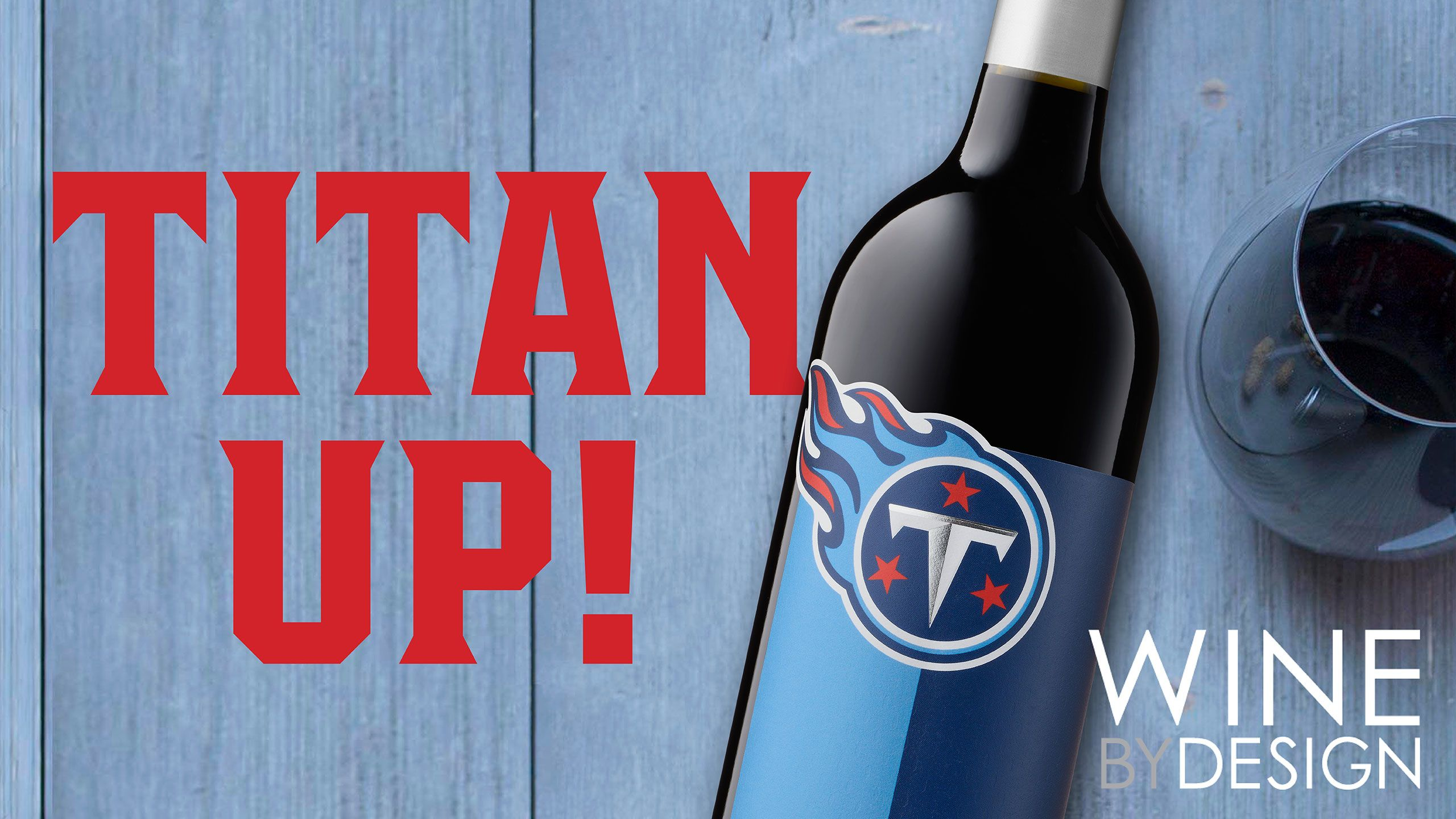CELEBRATING 100 YEARS of FOOTBALL with TITANS WINE COLLECTION