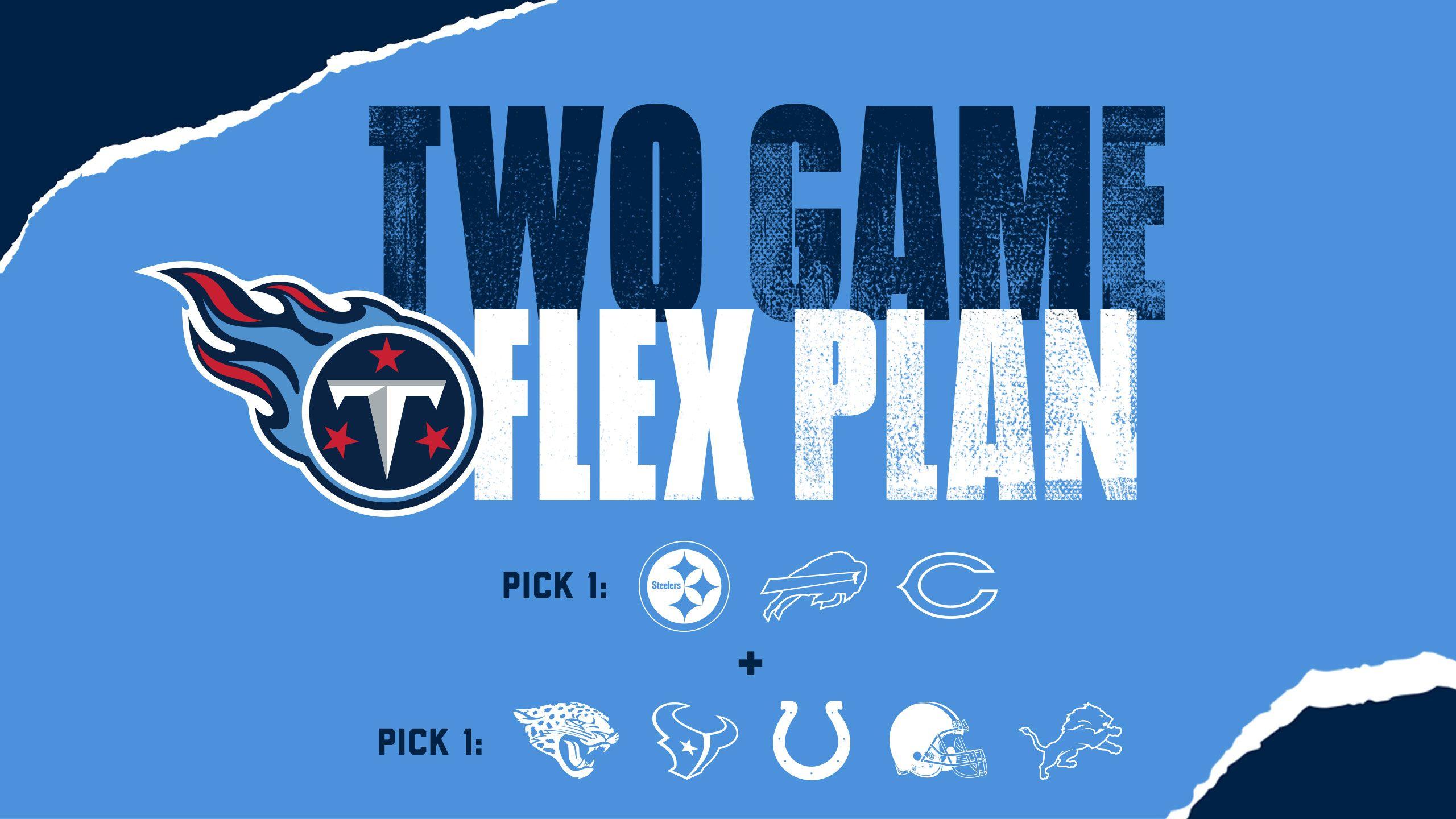 Two Game Flex Plan