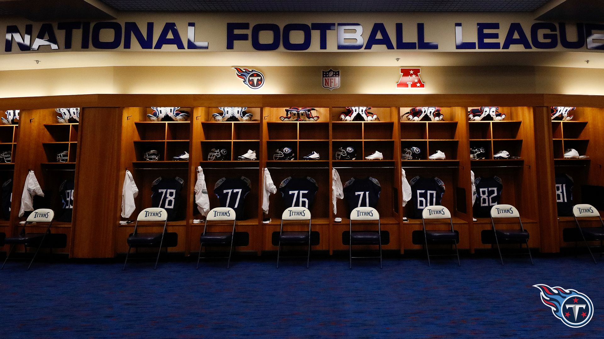 Titans Locker Room