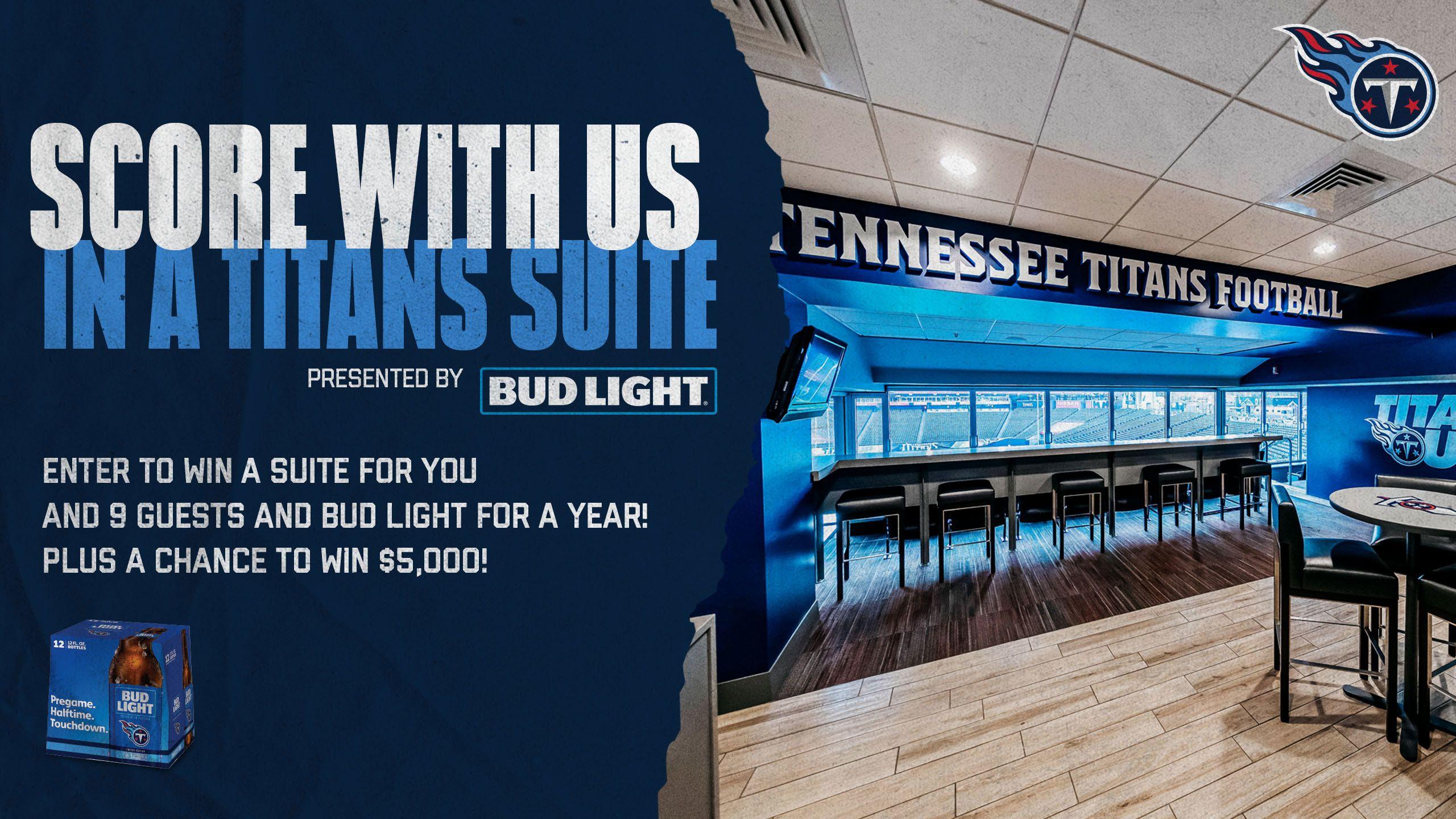 Win a Nissan Stadium Suite for Titans vs Lions