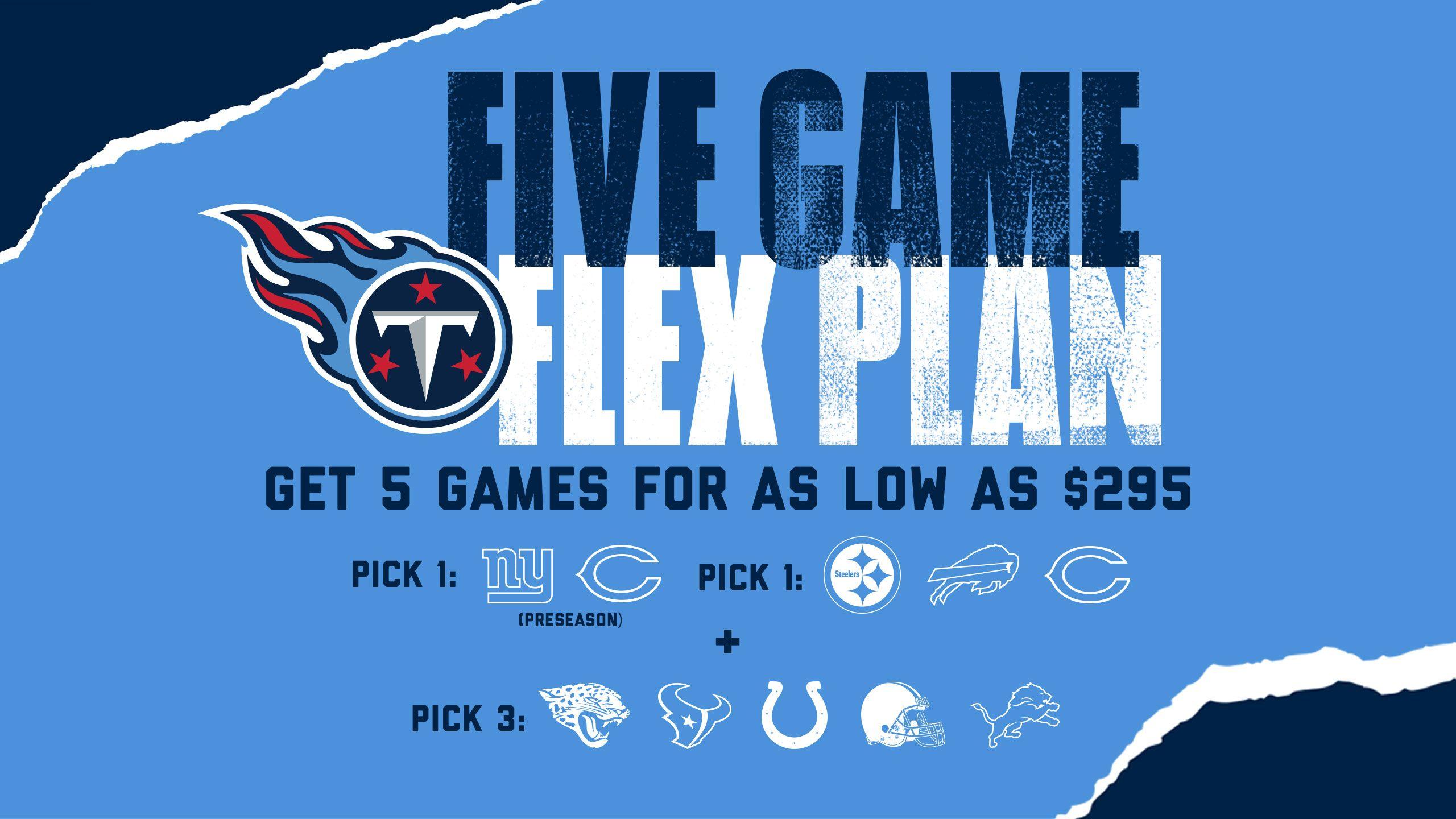 Five Game Flex Plan