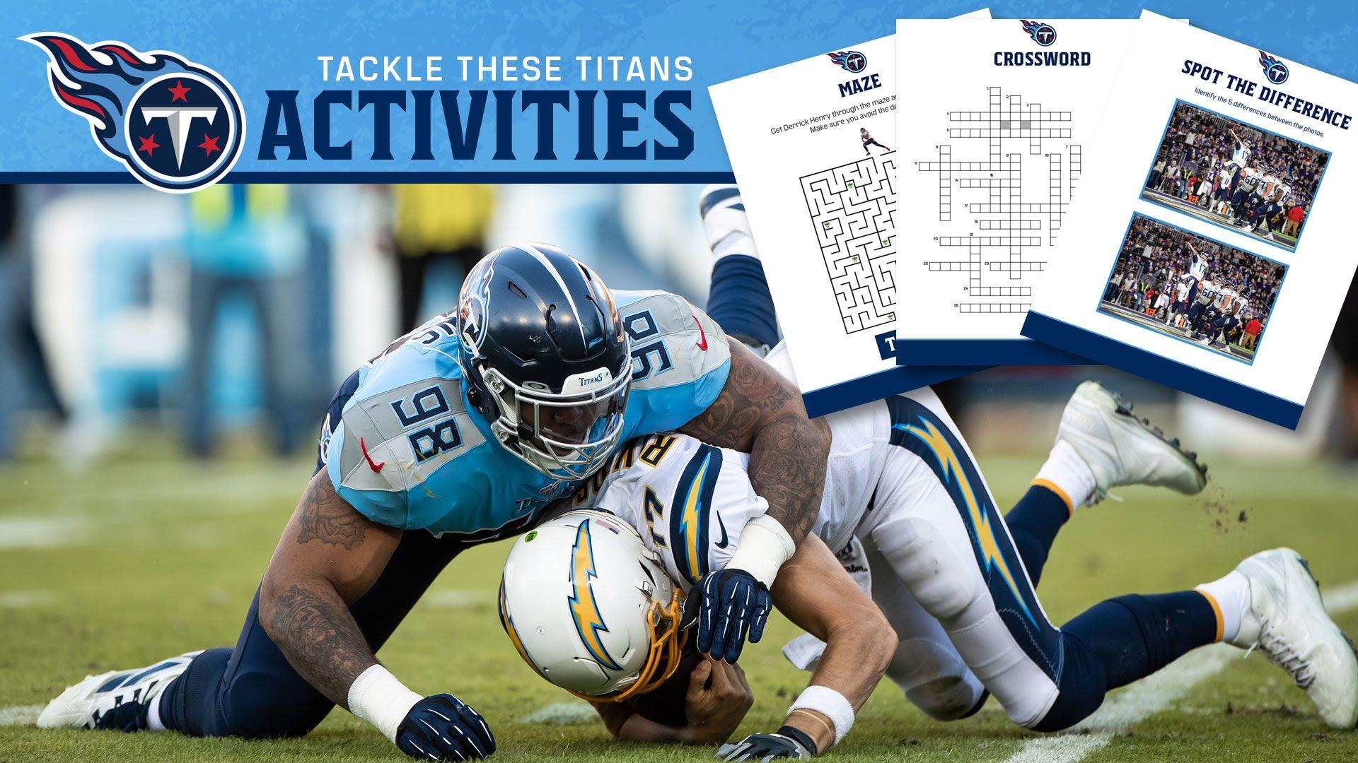 Titans Activity Book