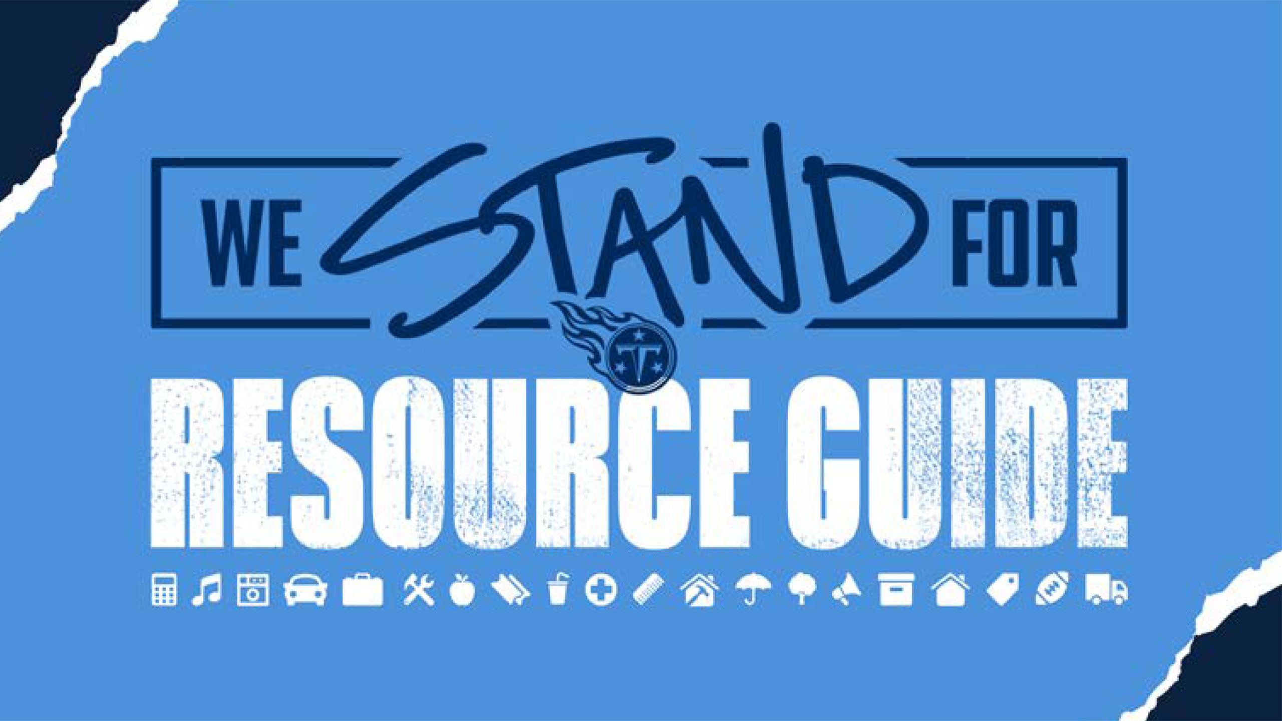 'We Stand For' Resource Guide